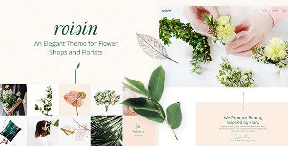 Roisin - Flower Shop and Florist Theme - Retail WordPress