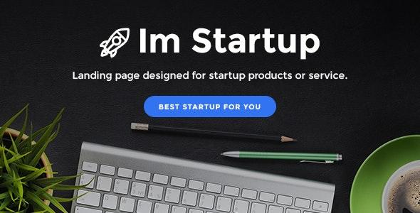 ImStartup - Startup Landing Page WordPress Theme - Marketing Corporate