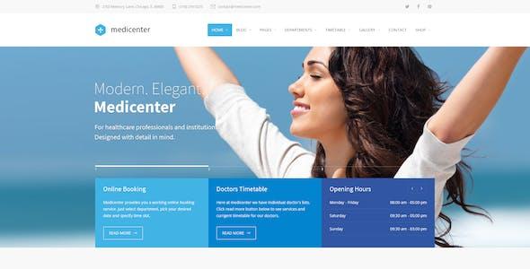 MediCenter - Health Medical Clinic PSD Template