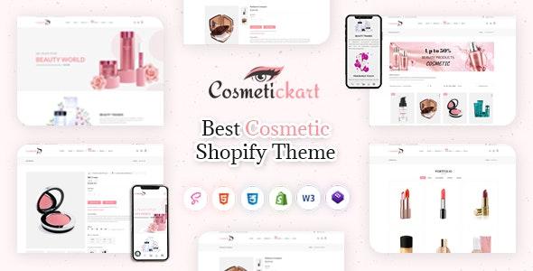CosmeticKart- Beauty & Cosmetics Shopify Theme - Health & Beauty Shopify