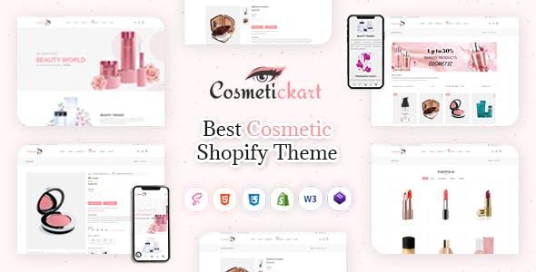 CosmeticKart- Beauty & Cosmetics Shopify Theme