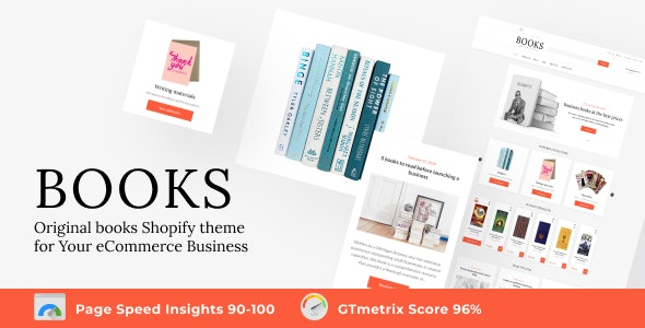 Shopify Books Online Store Template - Entertainment Shopify