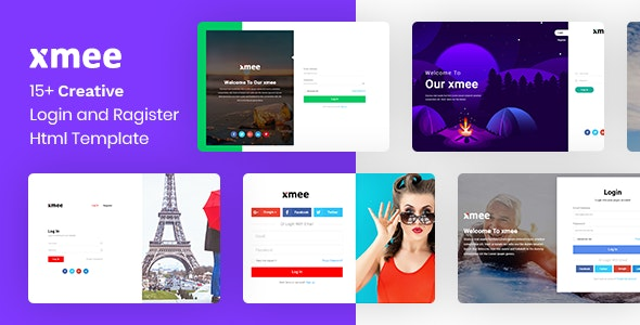 Xmee | Login and Register Form Html Templates - Miscellaneous Specialty Pages