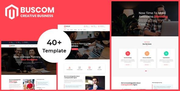 Buscom - Multipurpose Business and Corporate Template