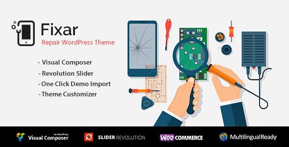 Fixar - Phone & Computer Repair Theme - Retail WordPress
