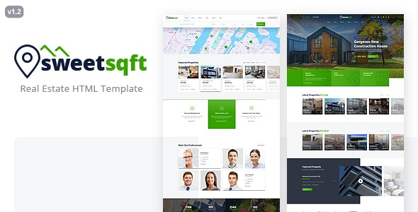 Sweetsqft - Real Estate HTML Template - Business Corporate