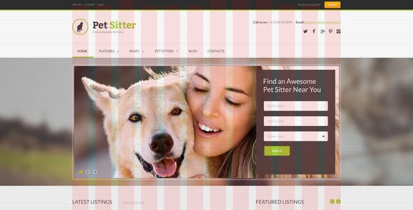 Dog Walking Templates From Themeforest