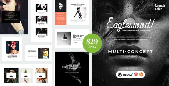 Eaglewood - Modern WordPress Blog Theme - Blog / Magazine WordPress