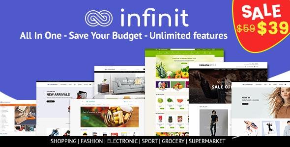 Infinit - Multipurpose Responsive Shopify Theme - Fashion Shopify