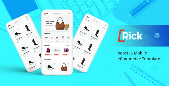 Download Rick – React JS Mobile eCommerce Template