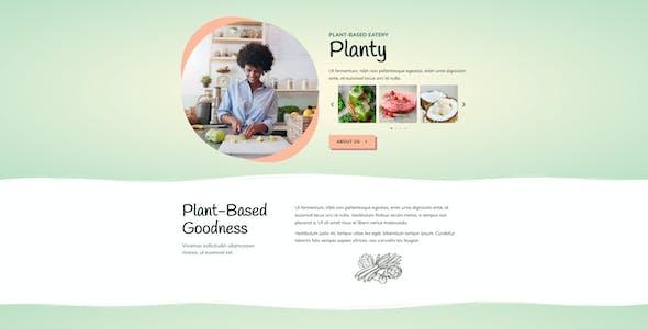 Planty - Cafe & Restaurant Template Kit