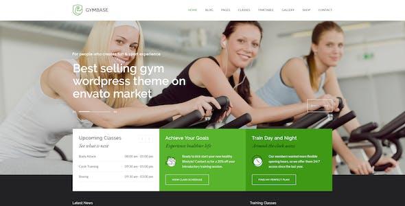 GymBase - Gym Fitness PSD Template