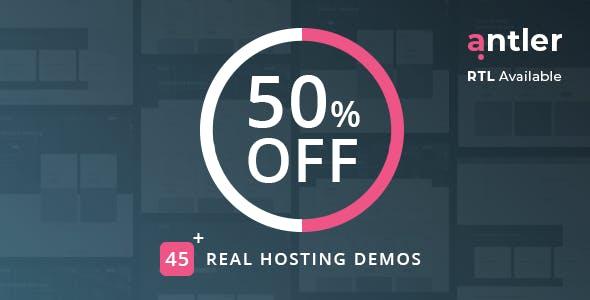 antler html hosting teması