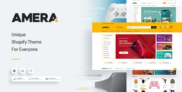 Amera - Multipurpose Shopify Theme - Shopify eCommerce