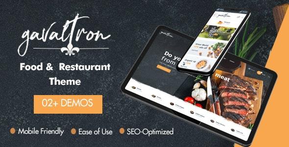 At Galvatron Food PrestaShop Theme for Restaurant & Grocery - Shopping PrestaShop