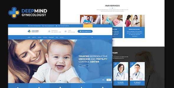 DeepMind Coronavirus, Hospital and Heath HTML Template