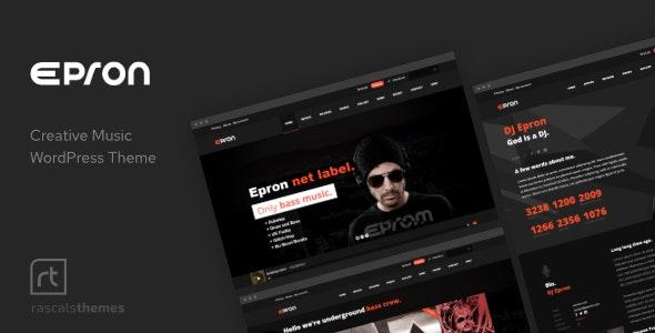 Epron WordPress Massive Music Theme