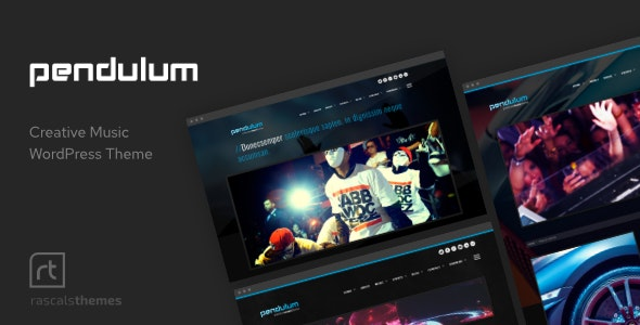 Pendulum - Beat Producers, DJs & Events Theme for WordPress - Music and Bands Entertainment