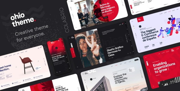 Ohio - Creative Portfolio & Agency WordPress Theme - Portfolio Creative