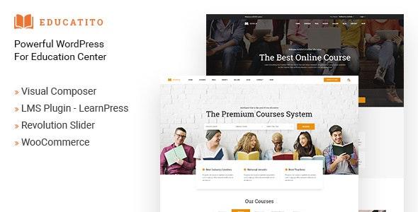 Educatito | Multiconcept Education & Courses WordPress Theme - Education WordPress