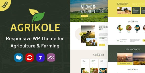 Download Agrikole | Responsive WordPress Theme for Agriculture & Farming