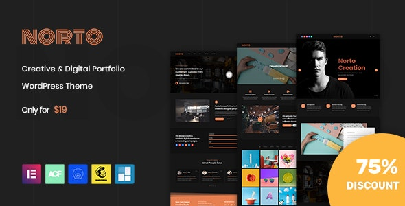Norto Theme Preview