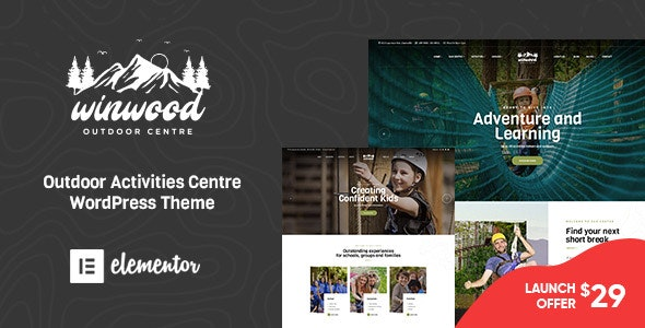 Winwood - Sports & Outdoor WordPress Theme - Retail WordPress