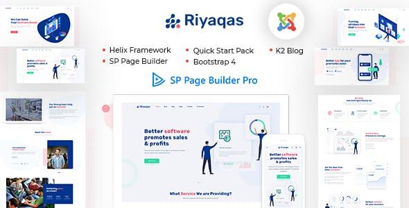 Riyaqas - Creative Multipurpose Joomla Template