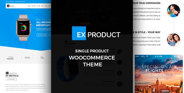 ExProduct - Single Product Theme - WooCommerce eCommerce