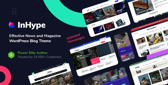 theme wordpress terbaik inhype