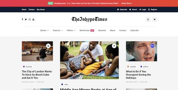 InHype - Blog & Magazine WordPress Theme