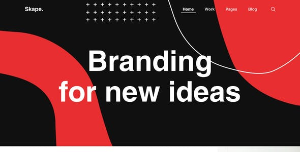 Skape - Creative & Modern Agency Sketch Template
