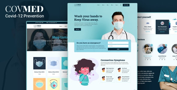 Covmed Covid 19 Prevention Joomla Template By Payothemes Themeforest