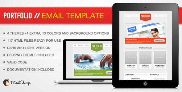 Portfolio Email Template - Email Templates Marketing