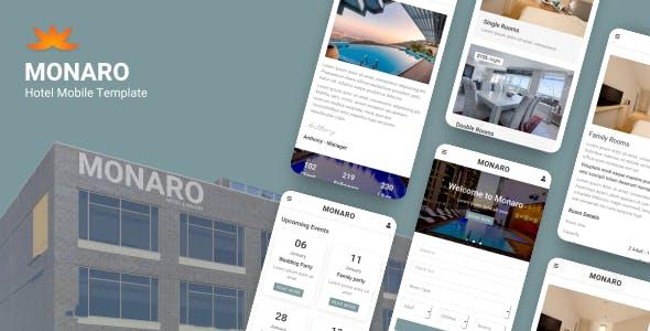 Monaro - Hotel Mobile Template