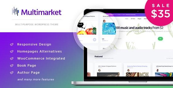 Multimarket - WooCommerce Marketplace Theme - WooCommerce eCommerce
