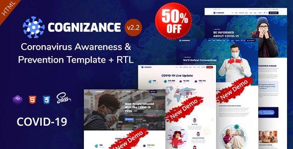 Cognizance - Coronavirus Awareness & Prevention Template - Health & Beauty Retail