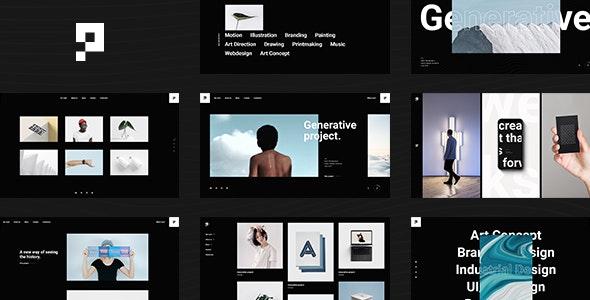 Pearce - Portfolio WordPress Theme