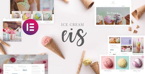 Eis - Ice Cream Shop Template Kit