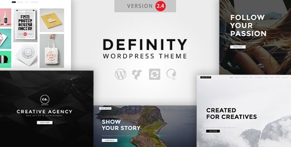 Definity - Creative Multi-Purpose WordPress Theme - Creative WordPress