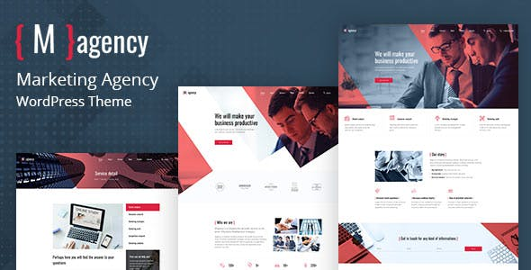 Magency - Marketing Company WordPress Theme