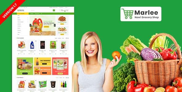 Marlee Grocery Prestashop Responsive Theme