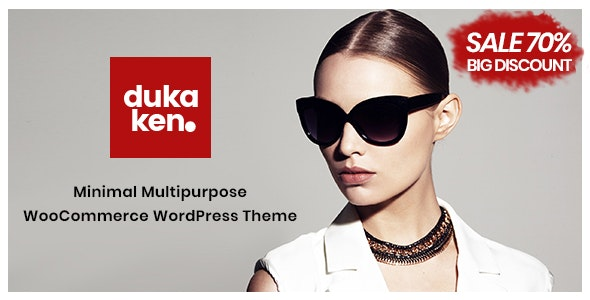 Dukaken – Multipurpose WooCommerce WordPress Theme - WooCommerce eCommerce