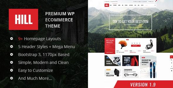 HILL - Premium Responsive WooCommerce Theme - WooCommerce eCommerce