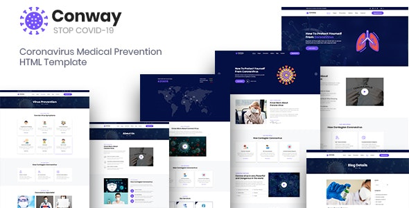 Conway - Coronavirus Medical Prevention Template - Health & Beauty Retail