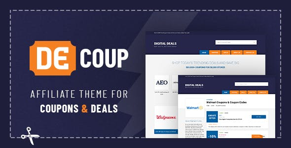 Download DeCoup - WordPress Theme for Coupons and Deals