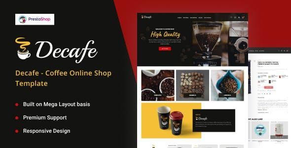 DeCafe - Coffee Online Store PrestaShop Theme