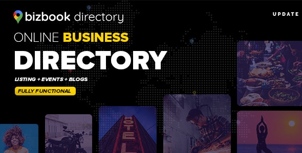 BizBook - Directory & Listings Template - Corporate Site Templates