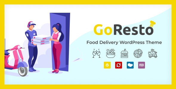 GoResto - Restaurant Food Delivery WordPress Theme - Restaurants & Cafes Entertainment