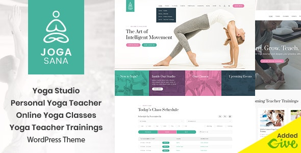 Jogasana - Yoga Oriented WordPress Theme - Health & Beauty Retail